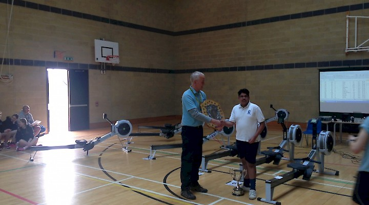 Hampton College won the Peterborough Schools Rowing Competition