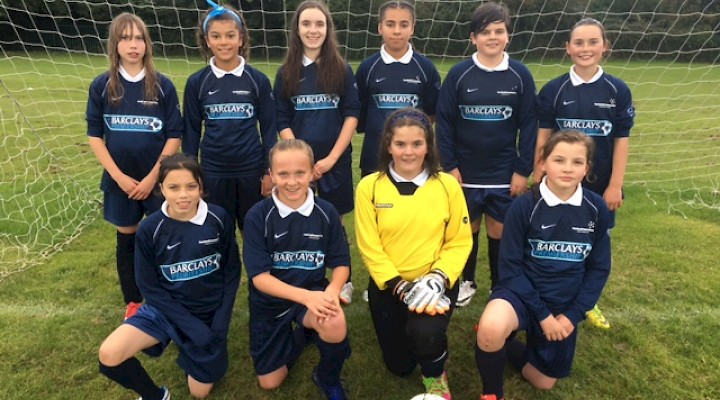 U13 Girls Football Team do the School Proud!