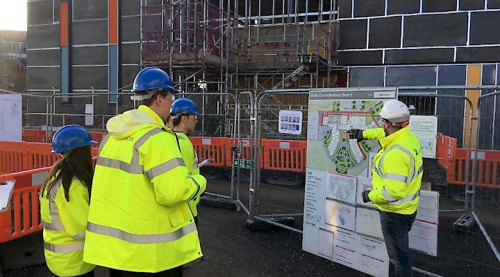Hampton Gardens Health & Safety Visit Conducted by Year 13