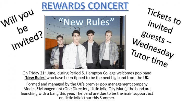 Rewards Concert - 21 June